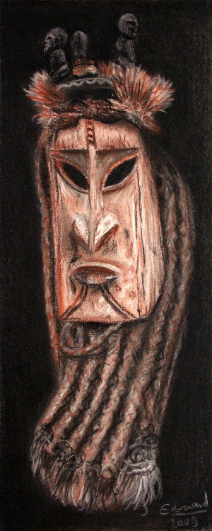 dessin-masque-afrique